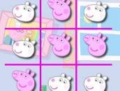 Peppa Pig Tic-Tac-Toe: Свинка Пеппа Крестики-нолики