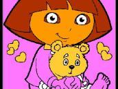 Dora The Explorer Coloring Book: Даша-следопыт: Раскраска