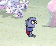 SpongeBob Anchovy Assault: Спанч Боб атака робота