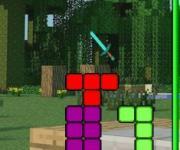 Minecraft Tetris: Майнкрафт тетрис