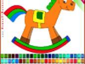 Раскраска - Пони