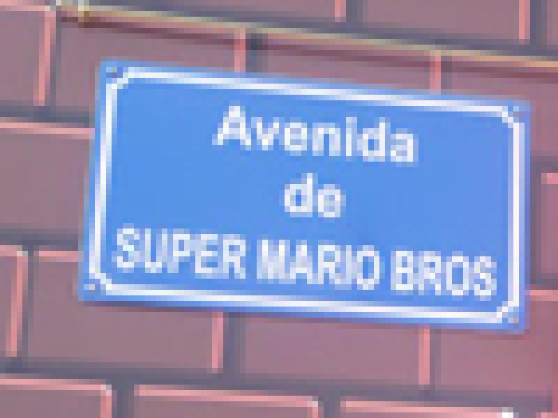 В Испании появилась улица Братьев Марио