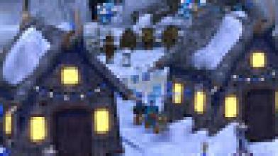 Рождественский дух поселился на улицах Costume Quest