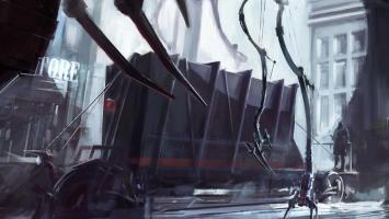 В качестве сеттинга для Dishonored изначально рассматривалась средневековая Япония