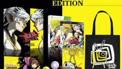 У европейской версии Persona 4 Arena появилось коллекционное издание