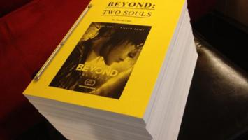 Сценарий к Beyond: Two Souls растянулся на две тысячи страниц