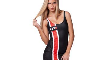 Black Milk Clothing запускает линию одежды для фанатов Mass Effect