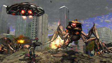 Новая Earth Defense Force выйдет на PlayStation 4