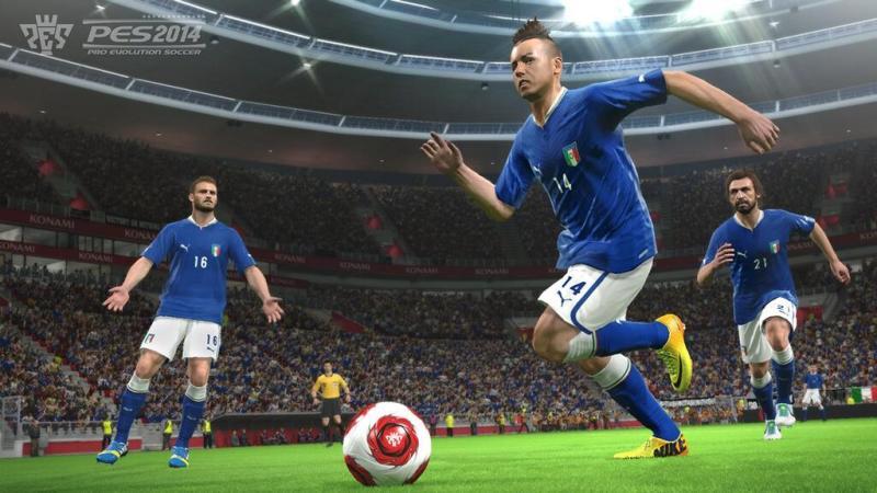 Демо-версия Pro Evolution Soccer 2014 вышла в PSN