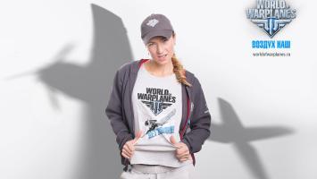 Дарья Домрачева снялась в стиле pin-up для World of Warplanes