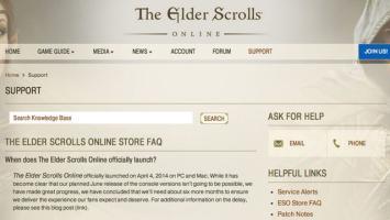 По слухам, выход Elder Scrolls Online на PS4 и Xbox One отложен на полгода