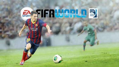 В мире выходит бета-версия бесплатной игры для PC FIFA World от EA Sports