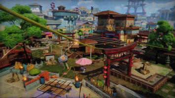 Очередной видеодневник разработчиков Sunset Overdrive посвящен разработке города Sunset City