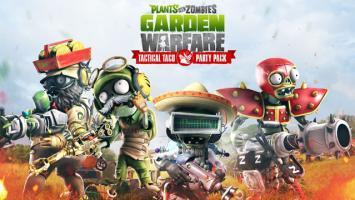 В новом дополнении Tactical Taco Party Pack герои игры Plants vs. Zombies Garden Warfare от студии PopCap Games отправляются на юг