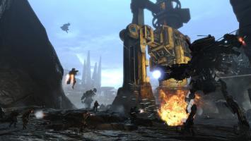Разработчики Titanfall показали карту Dig Site из грядущего дополнения Frontier's Edge