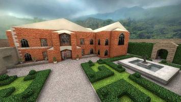 Классическое поместье Лары Крофт есть теперь и в CS:GO