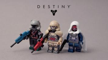 Взгляните на эти чудесные Lego-минифигурки персонажей Destiny