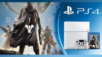 SCEE представляет новый комплект— белая PS4с игрой Destiny