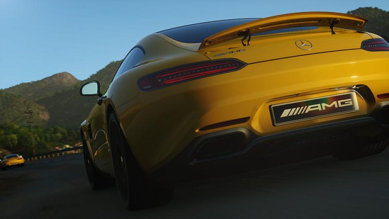 Новый Mercedes появится в Driveclub раньше начала продаж самого автомобиля