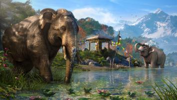 В новом трейлере Far Cry 4 слоны громят все на своем пути