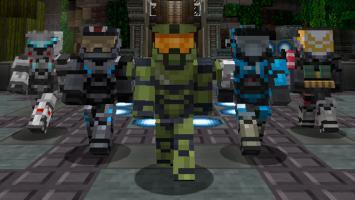 Вот так бы выглядела Halo 5: Guardians в Minecraft