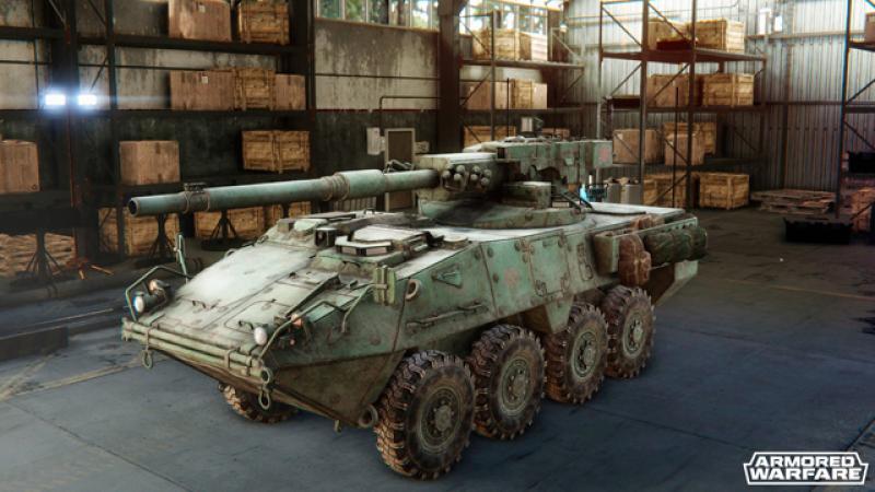 Armored Warfare устроит на «Игромире-2014» краш-шоу