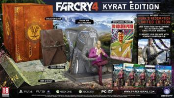 Взгляните на состав издания Far Cry 4 Kyrat Edition