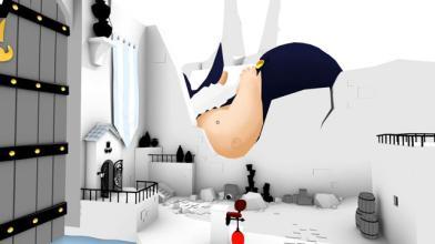 На следующей неделе The Unfinished Swan выходит на PS4 и Vita