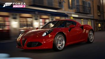 2014 Alfa Romeo 4C— звезда нового DLC для Forza Horizon2