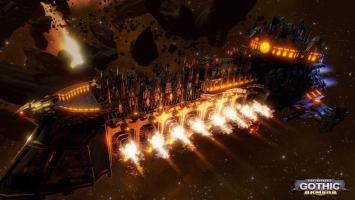 Вселенная Warhammer 40.000 возвращается в новой RTS Battlefleet Gothic: Armada
