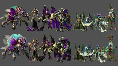 Blizzard выпустила официальные игровые материалы Warcraft 3 для моддеров StarCraft 2