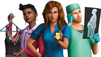 Новый видеоролик дополнения The Sims 4 «Наработу!»