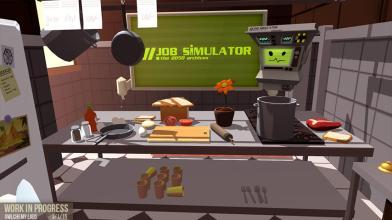Первым анонсированным проектом для SteamVR стал симулятор работы