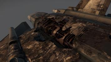 Впечатляющая модель повреждений космических кораблей в Star Citizen