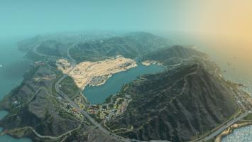 Детально воссозданный Лос-Сантос из GTA 5 в Cities: Skylines