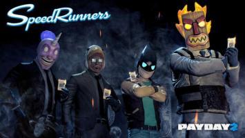 В PayDay 2 появились маски из игры Speedrunners