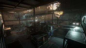 Жутковатая карта режима Exo Zombies в Advanced Warfare