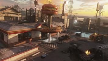В DLC Infection для режима Advanced Warfare Exo Zombies нашлись взрывающиеся бургеры