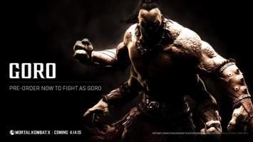 Дебютный геймплей за Горо в Mortal Kombat X