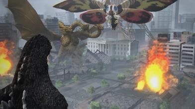 Годзилла против Мотры в новом трейлере игры о Короле Монстров