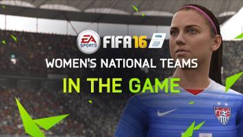 В FIFA 16 появятся женские национальные команды