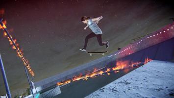 Горящие скейты в геймплейном ролике Tony Hawk 5