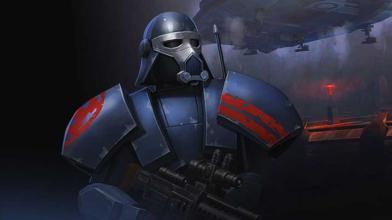 Геймплейный ролик игры Star Wars: Uprising в стиле Diablo для мобильных платформ