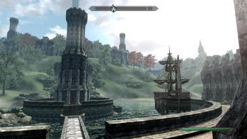 Живописная провинция Сиродиил из Oblivion на движке Skyrim