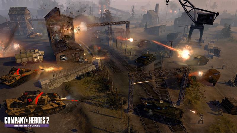 Танк «Кентавр» вновом трейлере Company ofHeroes2: The British Forces