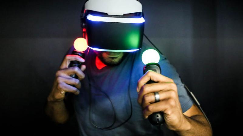 Демонстрация геймплея виртуальной игры London Heist для Project Morpheus