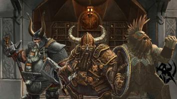 Гномы с топорами и молотами в новом видео Total War: Warhammer