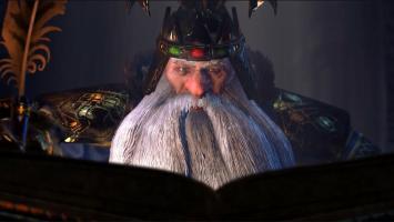 Гномий король Торгрим Злопамятный в новом трейлере Total War: Warhammer