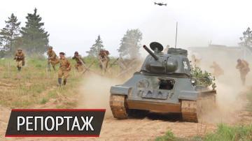 Как снимают танковый бой для виртуальной реальности: видео