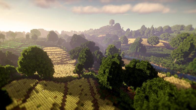 Игроки Minecraft воссоздали Шир из«Властелина колец»